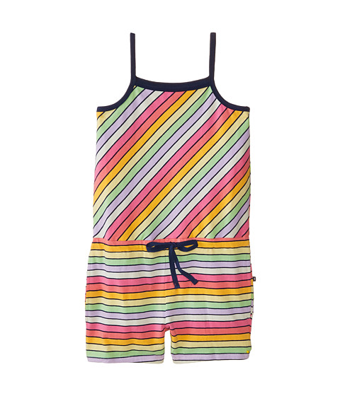 Toobydoo - The Retro Stripe Romper (Toddler/Little Kids/Big Kids) (Multi) Girl