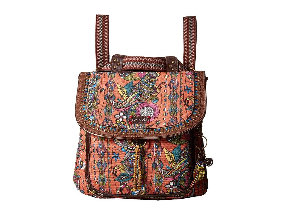 Sakroots - Artist Circle Convertible Backpack (Terra Cotta Spirit Desert) Backpack Bags