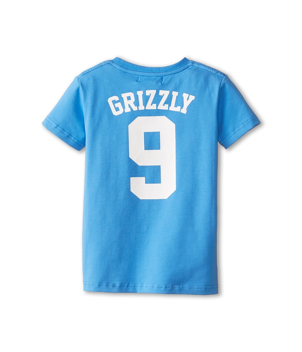 Toobydoo - Wild Bunch Tee Grizzly (Infant/Toddler/Little Kids/Big Kids) (Blue) Boy