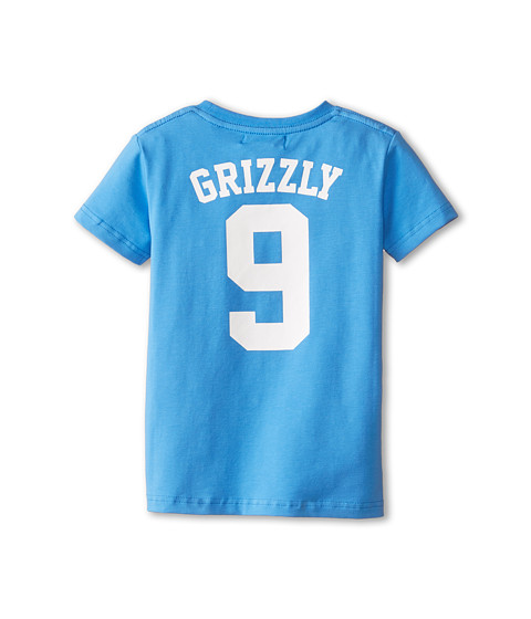 Toobydoo - Wild Bunch Tee Grizzly (Infant/Toddler/Little Kids/Big Kids) (Blue) Boy's T Shirt