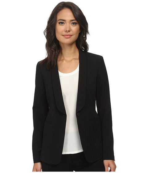 Anne Klein - Tuxedo Jacket (Black) Women's Coat