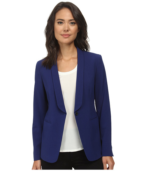 Anne Klein - Tuxedo Jacket (Ultramarine) Women's Coat