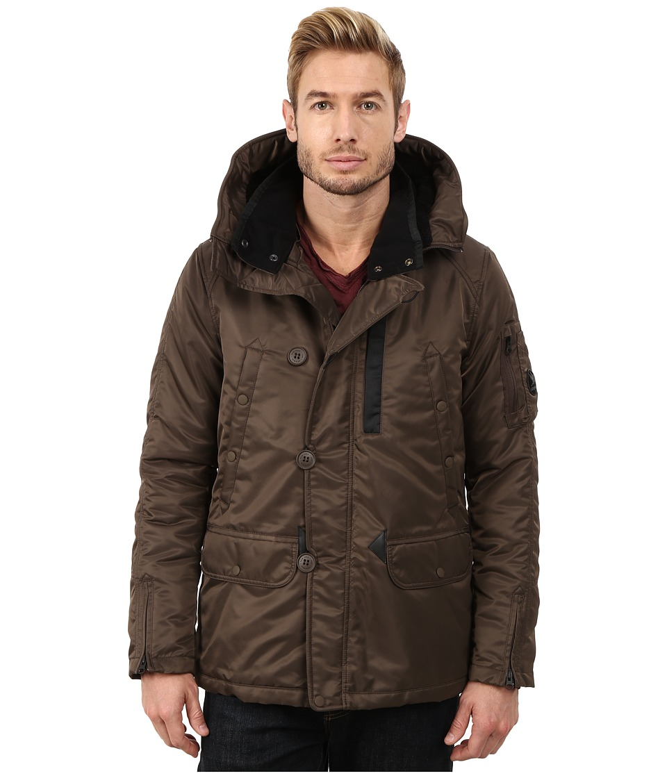 Spiewak - Heron Snorkle Parka SPMOW0022FFS03 (Officer Brown) Men's Coat