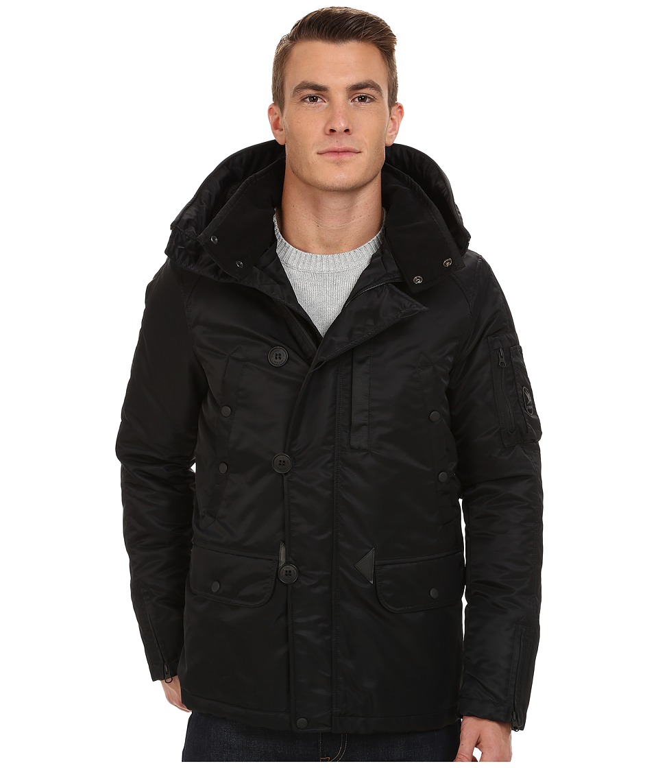 Spiewak - Heron Snorkle Parka SPMOW0022FFS03 (Caivar) Men's Coat plus size,  plus size fashion plus size appare