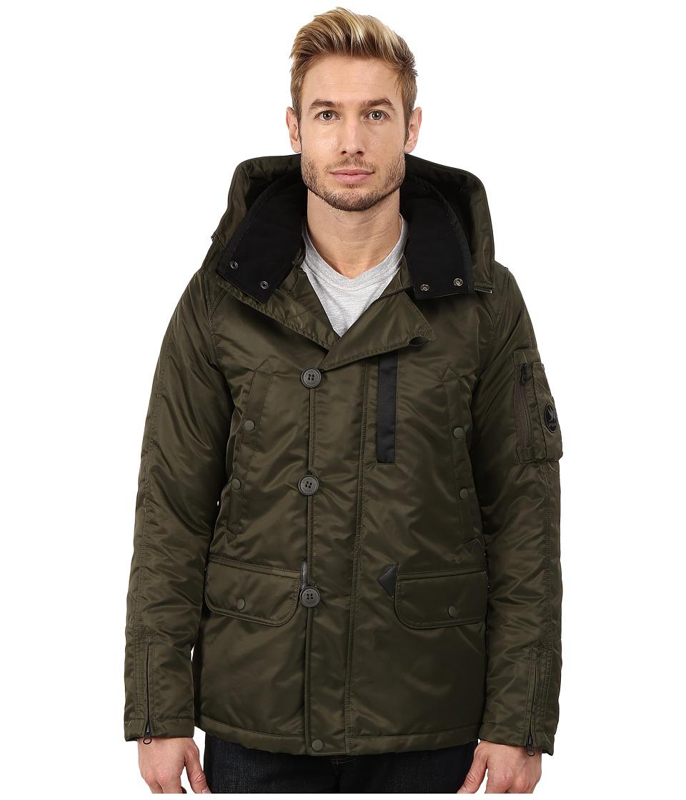 Spiewak - Heron Snorkle Parka SPMOW0022FFS03 (Olive) Men's Coat