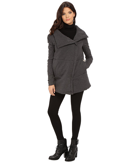 Spiewak - Delano Jacket SPFOW0084FWJ01 (Charcoal Grey) Women's Coat