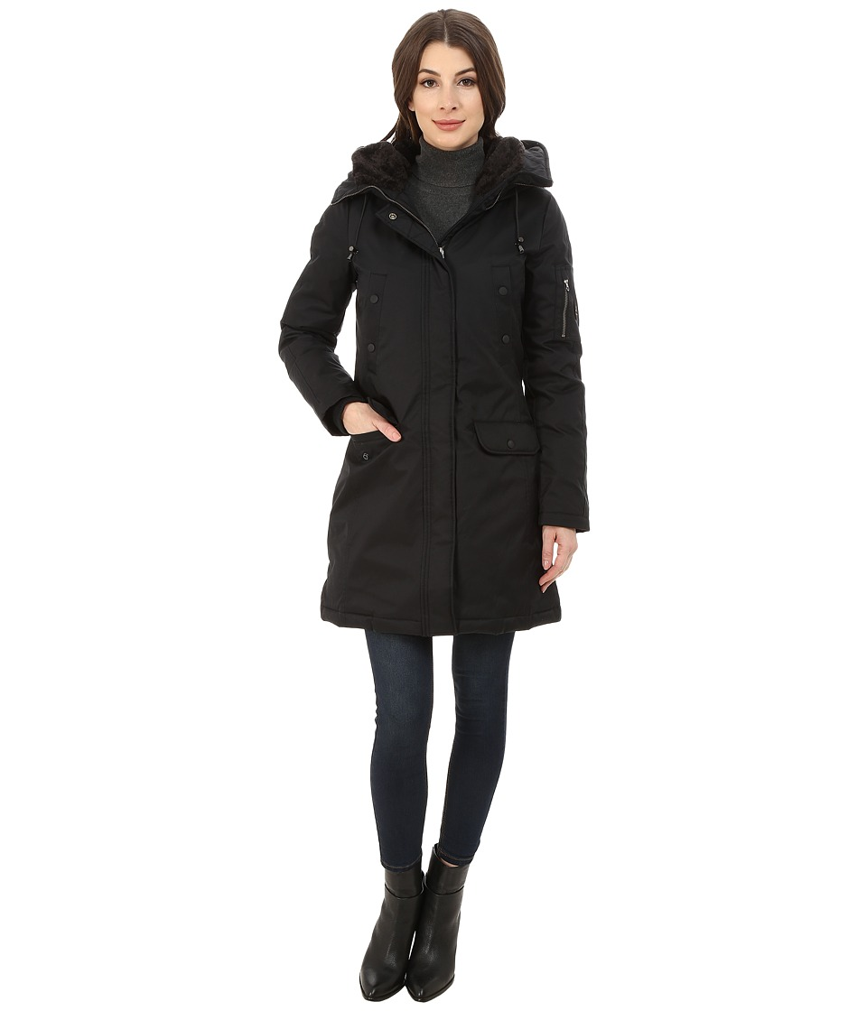 Spiewak - Aviation N3-B Parka No Fur SPFOW0056FAC01 (Caviar/Black) Women's Coat