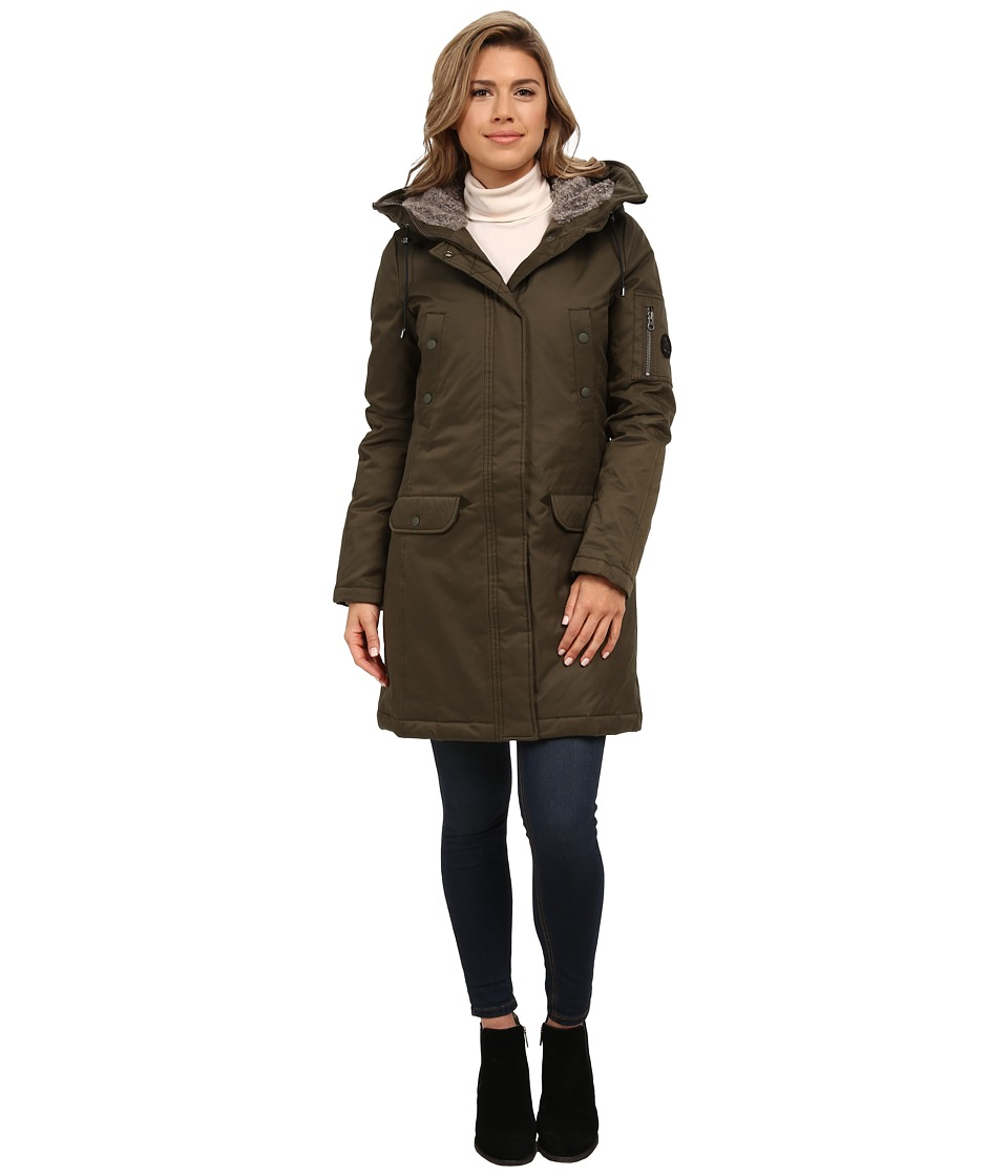 Spiewak - Aviation N3-B Parka No Fur SPFOW0056FAC01 (Olive) Women's Coat