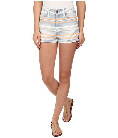 Joe's Jeans - High Rise Rolled Shorts in Tandier Bay Stripe (Tandier Bay Stripe) Women's Shorts