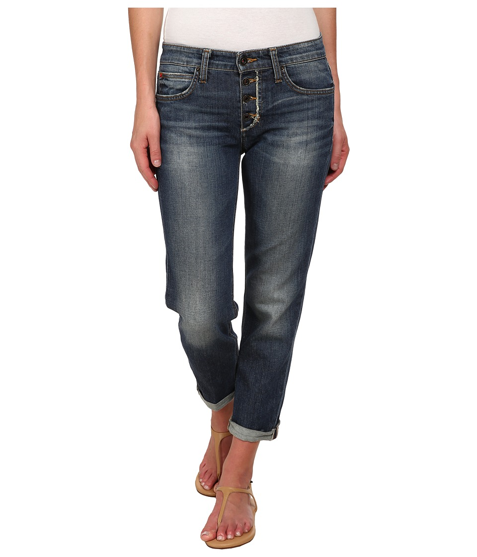 Joe's Jeans - Japanese Denim - Busted Fly Boyfriend Slim Crop in Natsumi (Natsumi) Women's Jeans