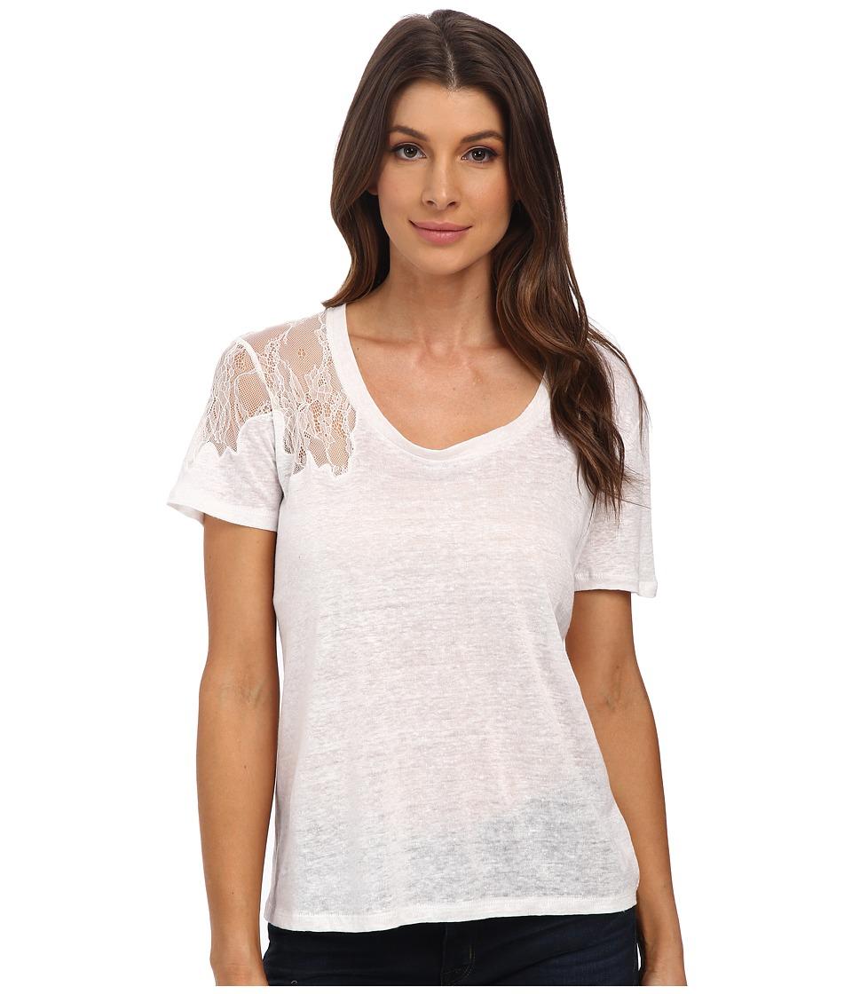 Joe's Jeans - Empress Tee (White) Women's T Shirt