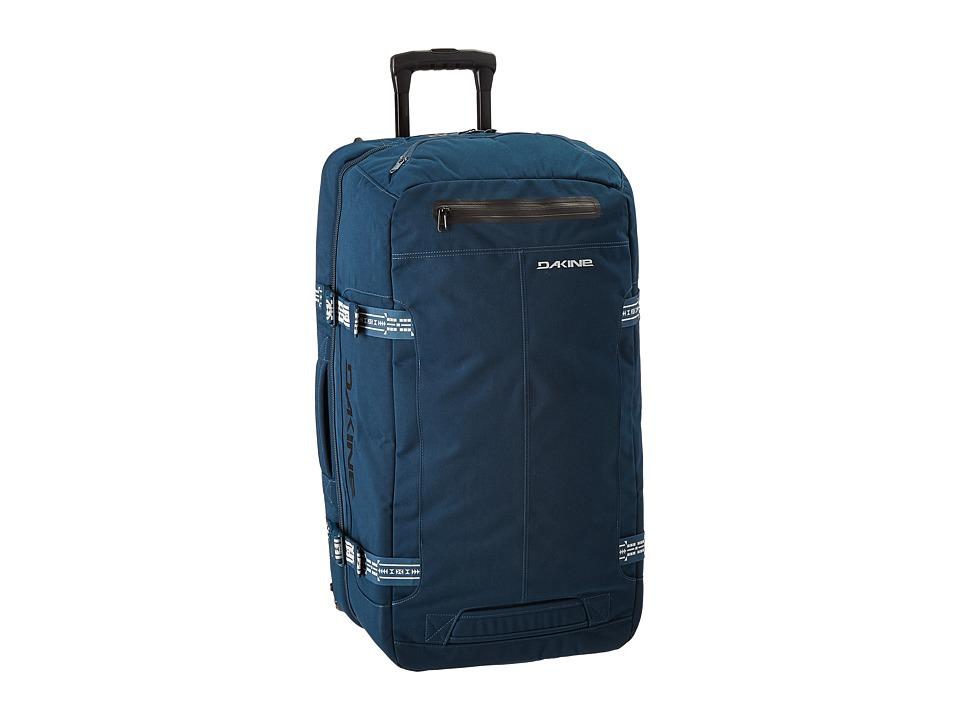Dakine - DLX Roller Luggage 80L (Navy Canvas) Luggage