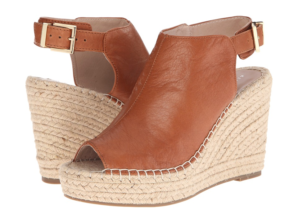 Kenneth Cole New York - Olivia (Medium Brown) Women's Wedge Shoes