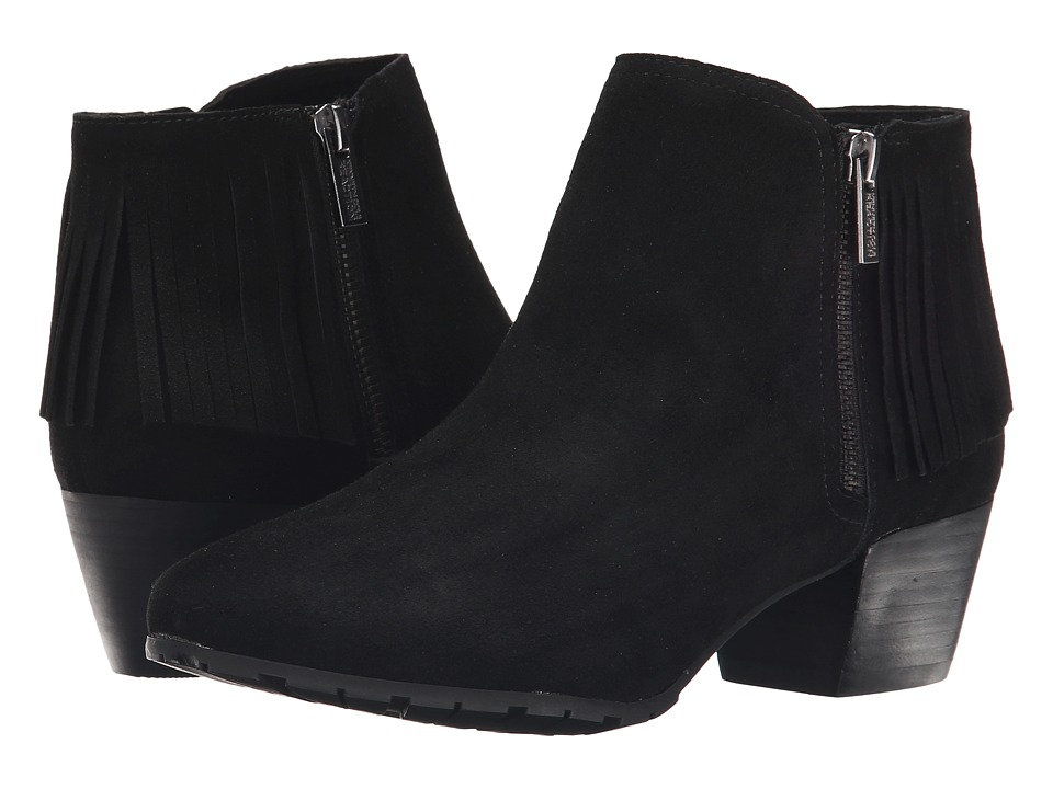 Kenneth Cole Reaction - Pil-Ates (Black Suede) Women's Zip Boots