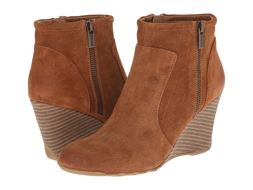 Kenneth Cole Reaction - Tell Lilly Pad (Pretzel Suede) Women's Zip Boots