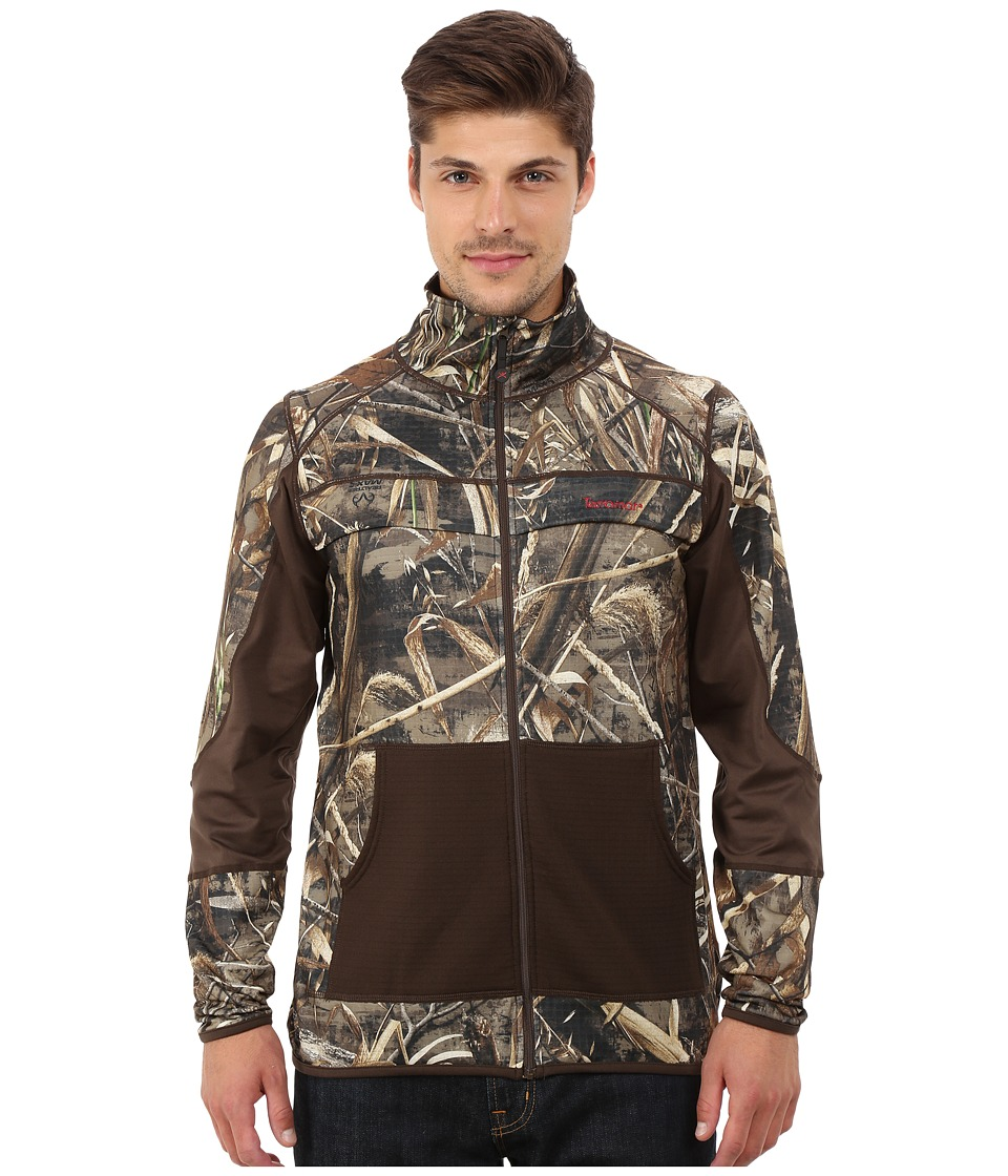 Terramar - 4.0 Predator II Full Zip (Realtree Max 5/Bison Brown) Men's Coat