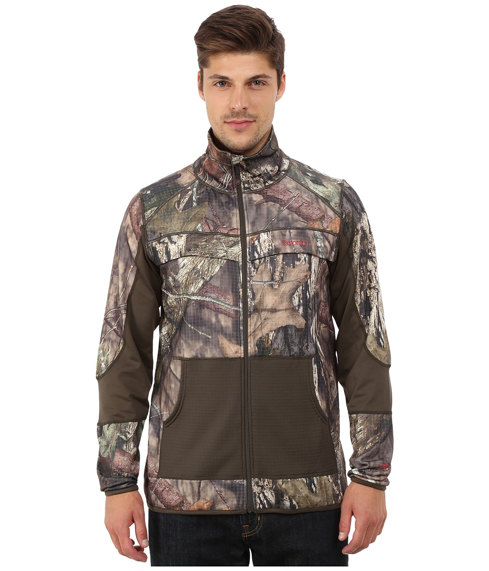 Terramar - 4.0 Predator II Full Zip (Mossy Oak Break-Up Country/Dark Loden) Men's Coat