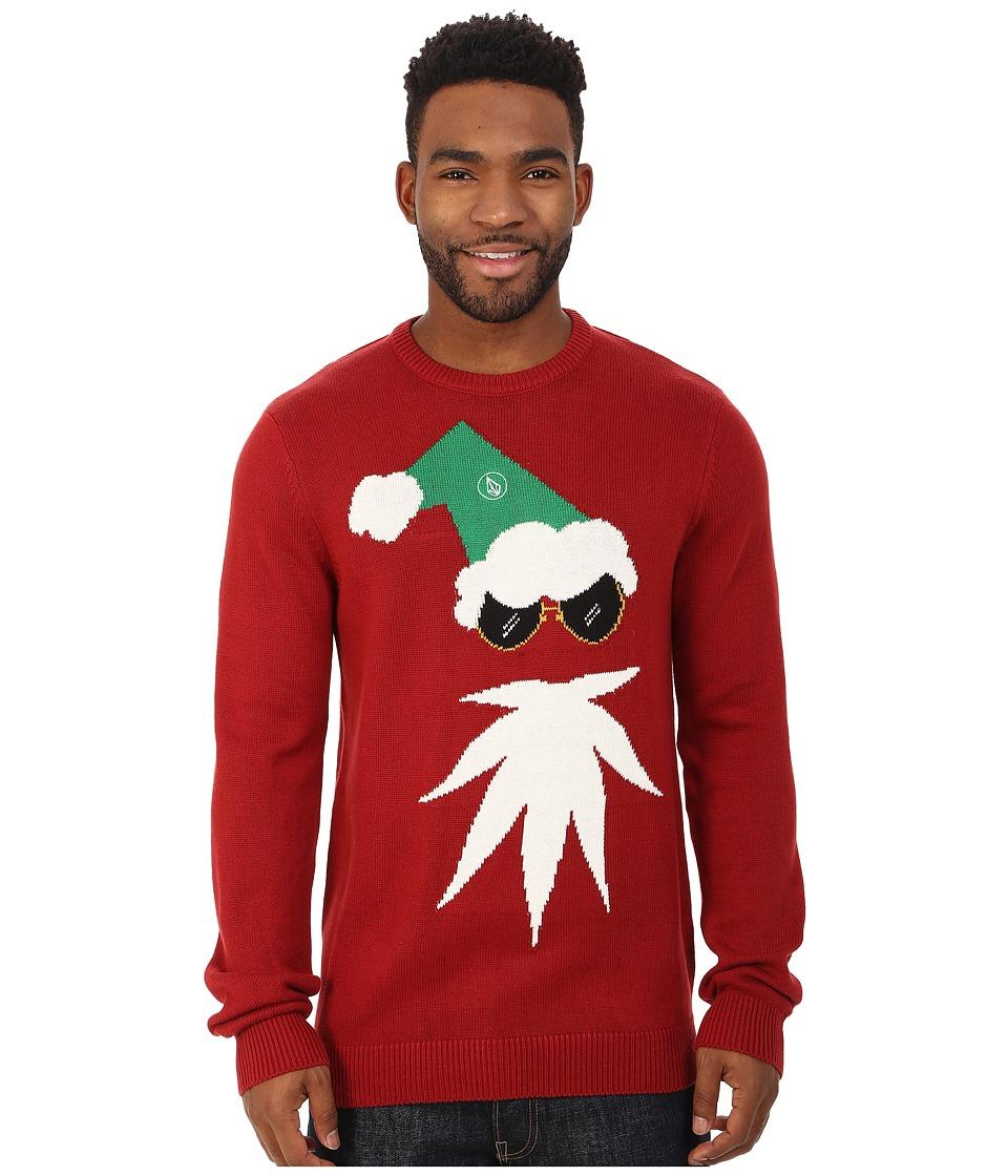 Volcom - Xmas 2 Sweater (Deep Red) Men