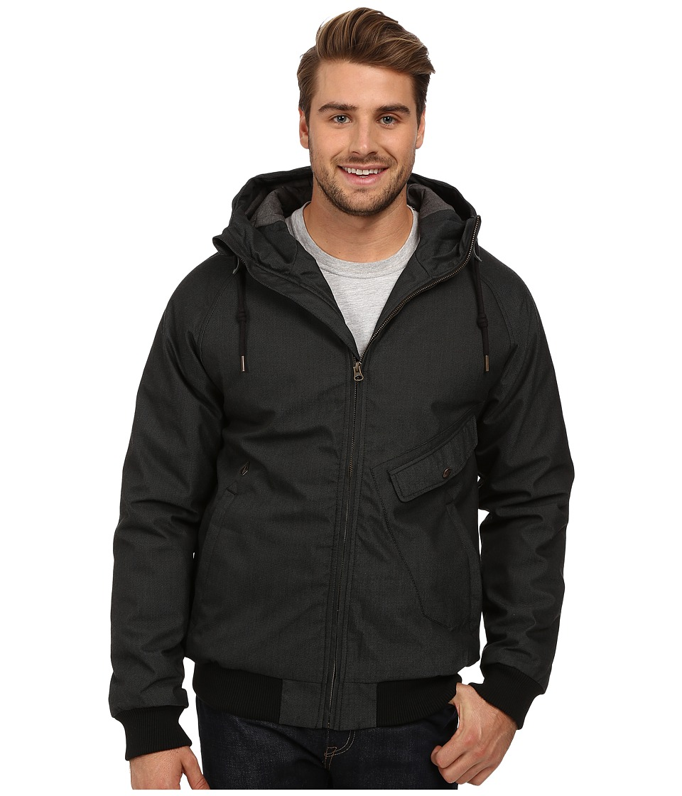 Volcom - Coaster Jacket (Black) Men