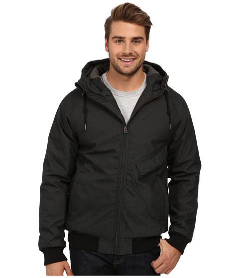 Volcom - Coaster Jacket (Black) Men's Jacket
