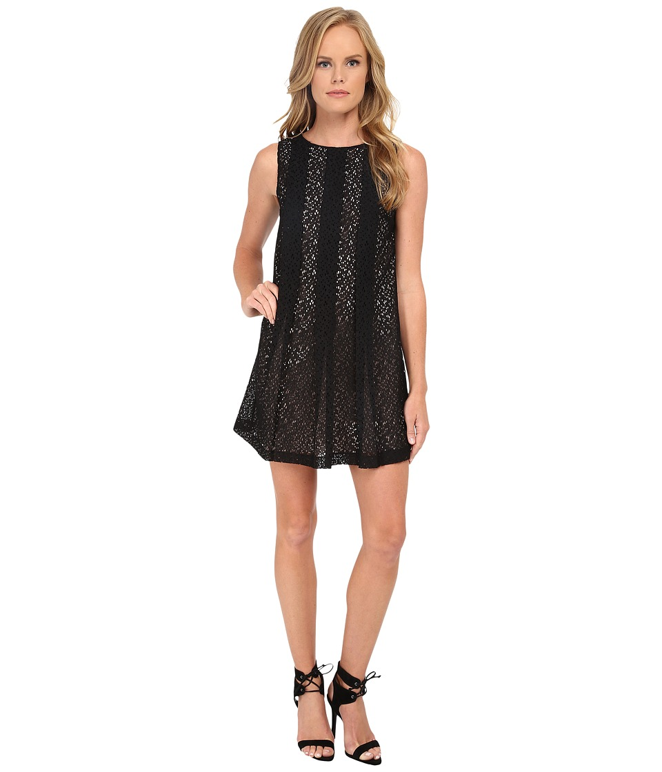 Susana Monaco Dove Dress (Black) Women