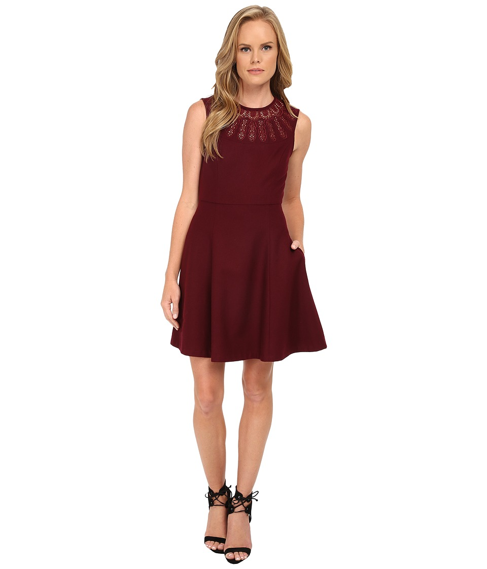 Susana Monaco Mia Dress (Wine) Women