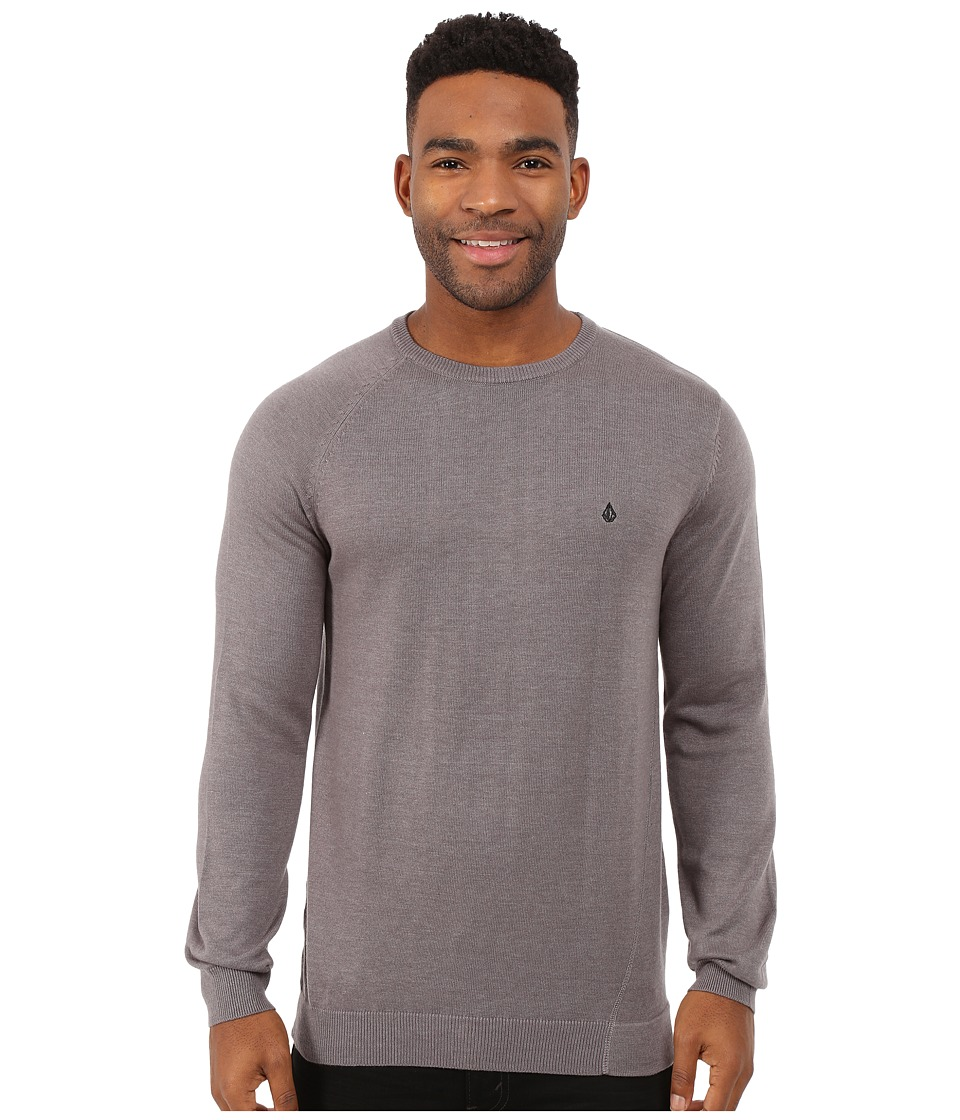 Volcom - Understated Sweater (Dark Grey) Men's Sweater