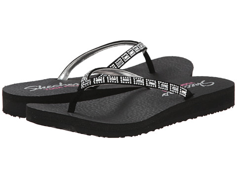 SKECHERS - Meditation - Set Free (Black) Women's Sandals