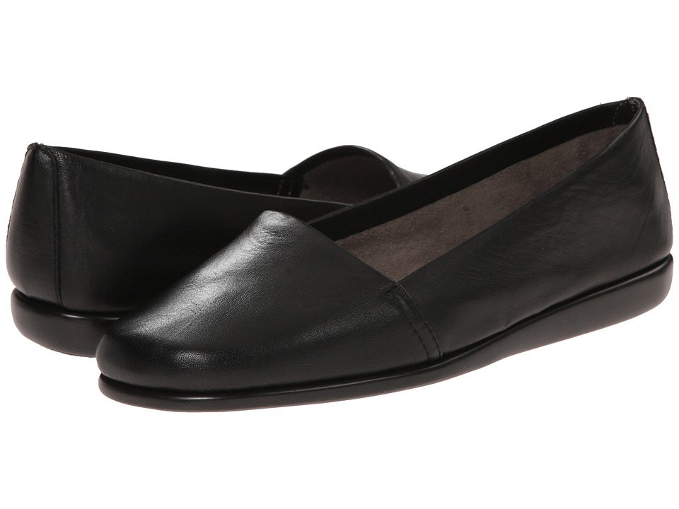 Aerosoles - Mr Softee (Black) Women's Slip on Shoes