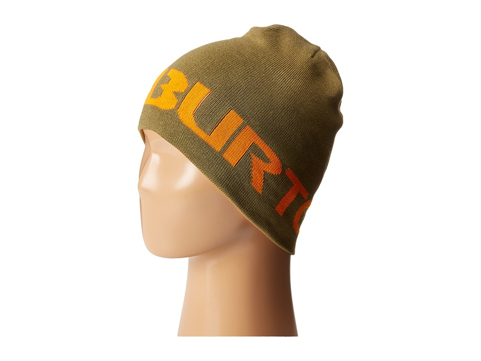 Burton - Billboard Beanie (Little Kids/Big Kids) (Algae/Safety) Beanies