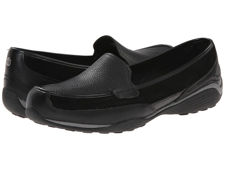 SKECHERS - Tuscany (Black) Women's Slip-on Dress Shoes