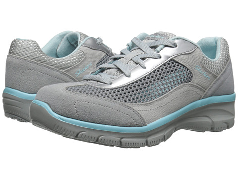 SKECHERS - Easy Going - Breeze Way (Grey) Women's Shoes