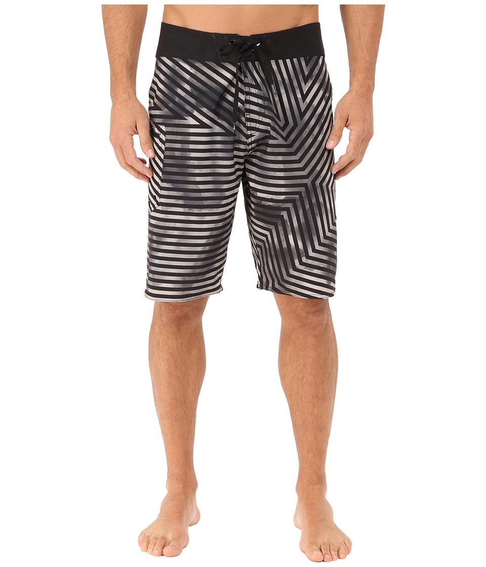 Volcom - Liquid Logo 21 Boardshorts (Black) Men's Swimwear
