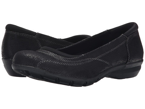 SKECHERS - Career - First Impression (Black) Women's Slip on Shoes
