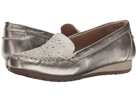 SKECHERS - Rome (Taupe) Women's Slip on Shoes