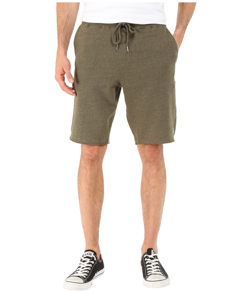 Volcom - Plax Fleece Shorts (Old Blackboard Heather) Men's Shorts