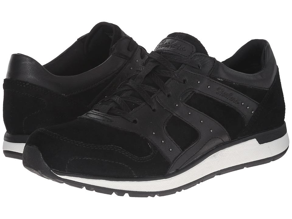SKECHERS - Slicker (Black) Women's Tennis Shoes