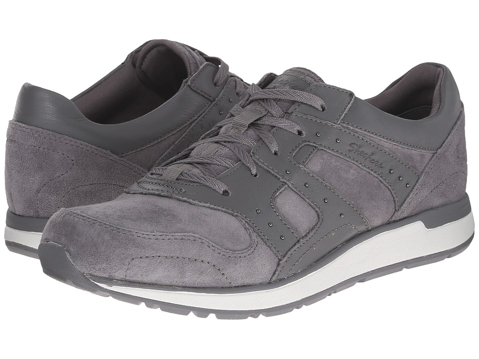 SKECHERS - Slicker (Charcoal) Women's Tennis Shoes