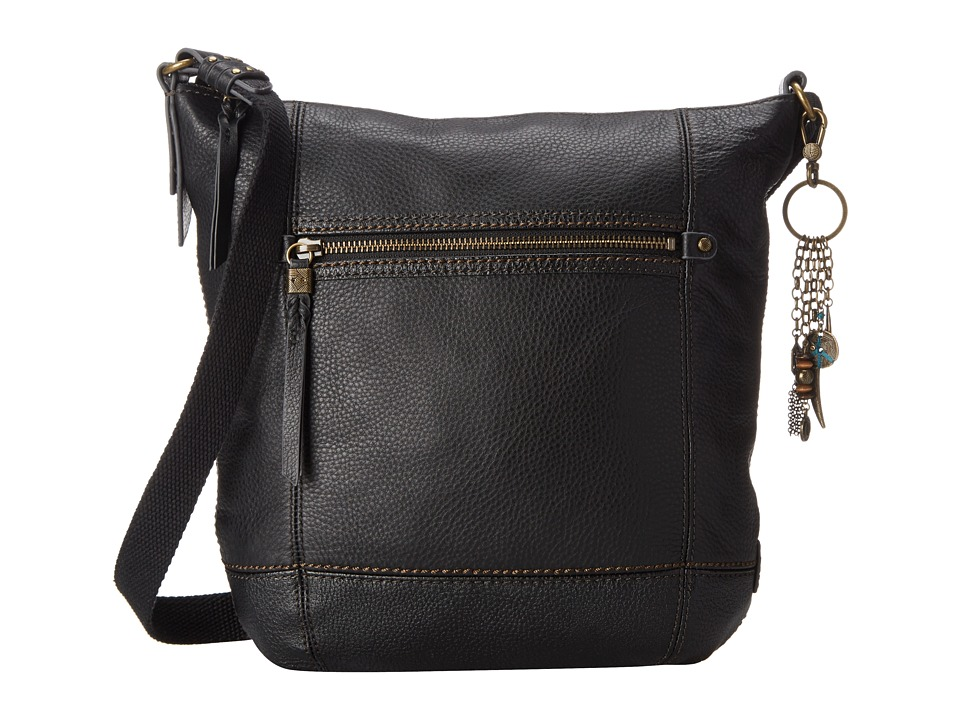 The Sak - Sequoia Crossbody (Black) Cross Body Handbags
