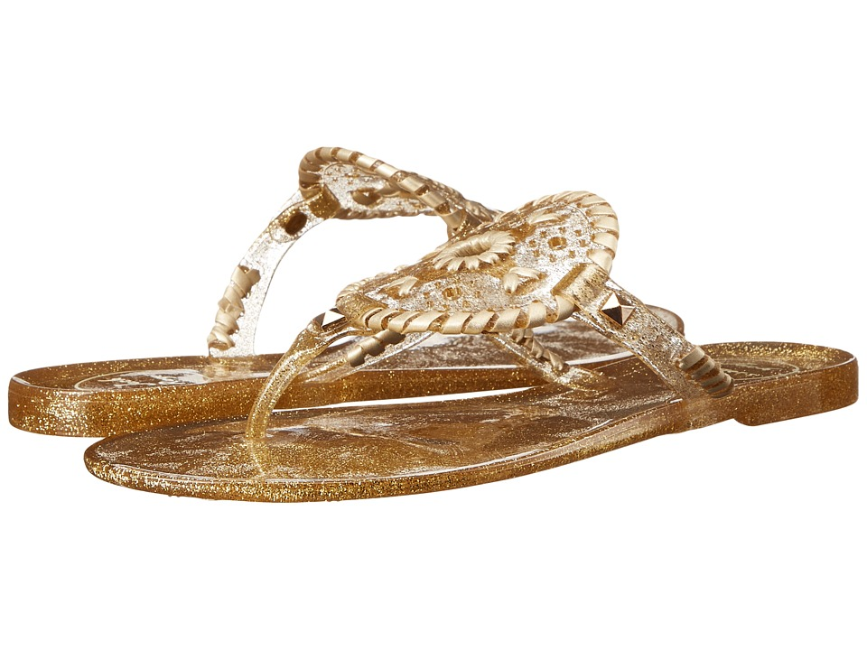 Jack Rogers - Sparkle Georgica Jelly (Gold) Women