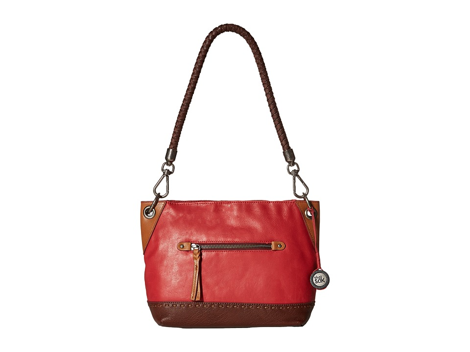 The Sak - Indio Leather Demi (Cherry Block) Shoulder Handbags