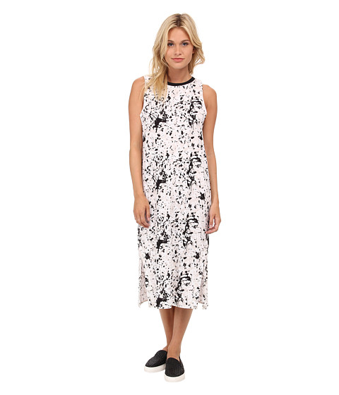 Vans - Penelope Muscle Midi Dress (White Sand) Women