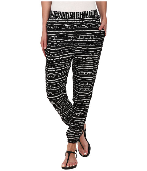 Vans - Firecracker Side Stripe Pants (Black/White) Women's Casual Pants