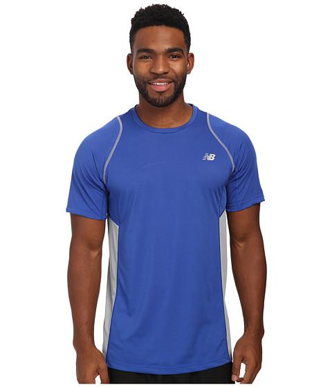 New Balance - Accelerate Short Sleeve (Optic Blue) Men