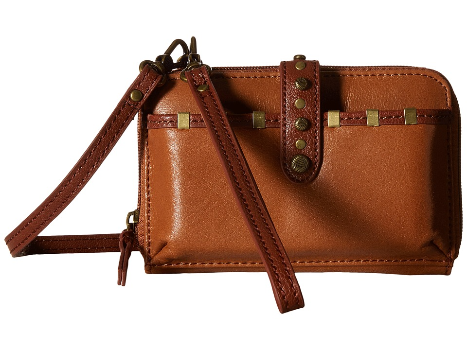 The Sak - Iris Smartphone Crossbody (Tobacco Staples) Cross Body Handbags