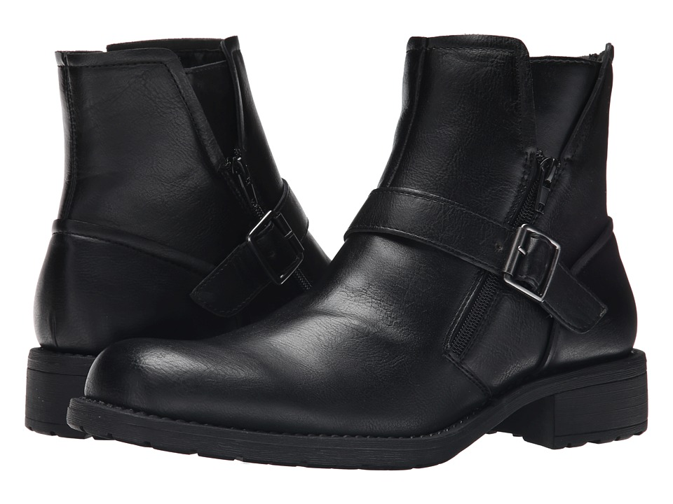 Kenneth Cole Unlisted - Cop Talk (Black) Men's Zip Boots