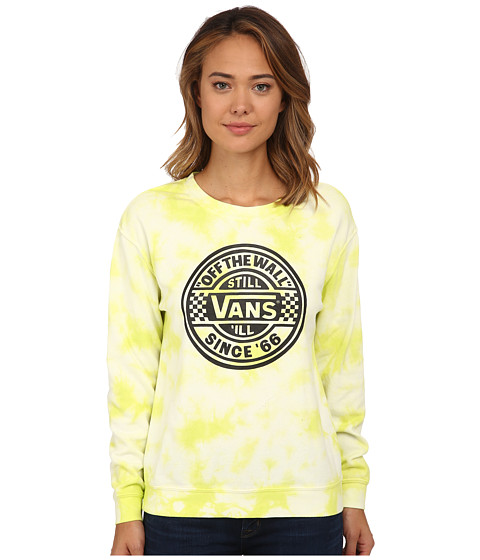 Vans - Moonshine Crew (Sulphur) Women's Clothing