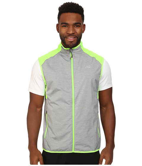 New Balance - Surface Run Vest (Chemical Green) Men's Vest