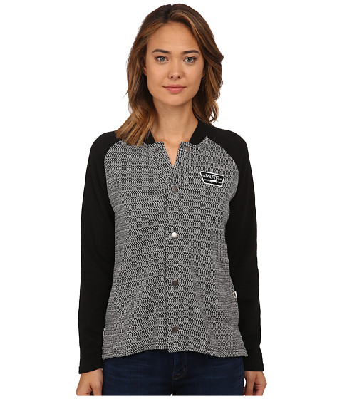 Vans - Vandelion Varsity Fleece (Black) Women's Fleece