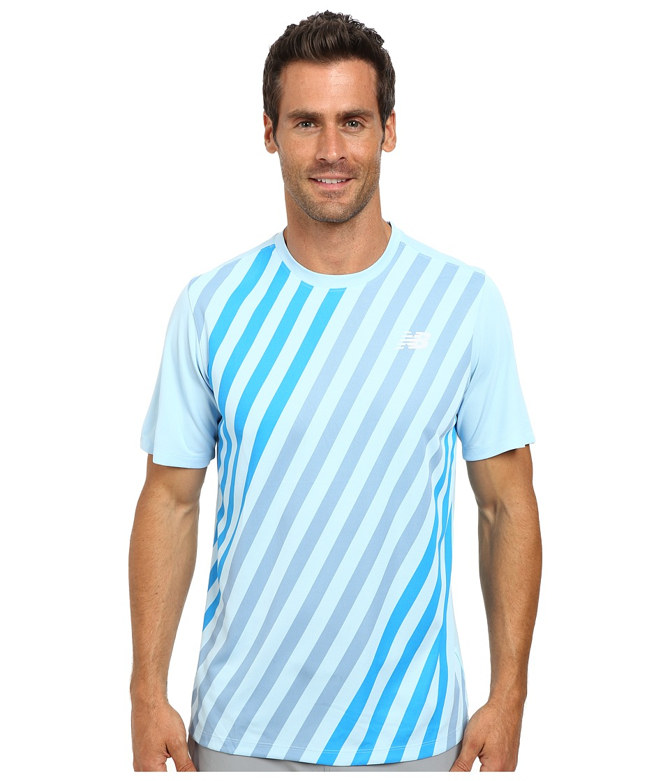 New Balance - Challenger Crew Shirt (Crystal Print) Men